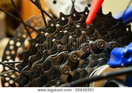 Bicycle Cogwheel