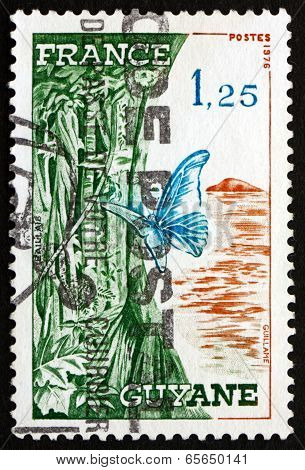 Postage Stamp France 1976 French Guiana