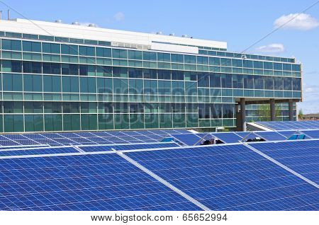 Solar Powered Office