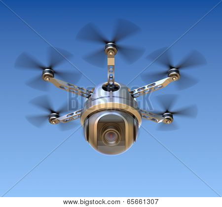 Drone with the camera