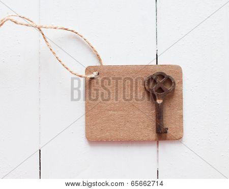 Brown Cardboard Tag