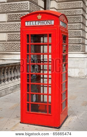 Telephone Booth. London, Uk
