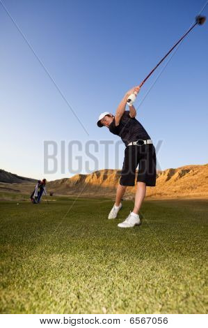 Golf Driver Swing