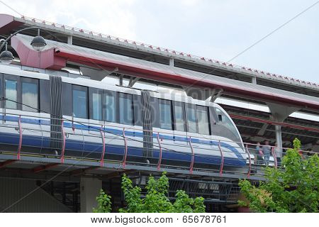 the image of a monorail railway