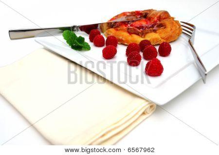 Raspberry Danish Pastry