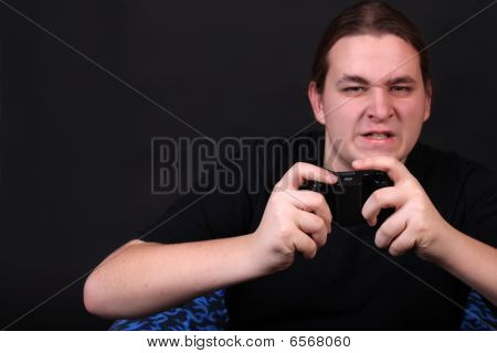 Teenage Video Game Player