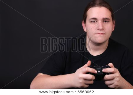 Teenage Video Game Player
