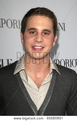LOS ANGELES - SEP 27:  Ben Platt at the Teen Vogue's 10th Annual Young Hollywood Party at Private Location on September 27, 2012 in Beverly Hills, CA