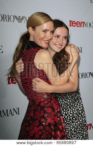 LOS ANGELES - SEP 27:  Leslie Mann, Maude Apatow at the Teen Vogue's 10th Annual Young Hollywood Party at Private Location on September 27, 2012 in Beverly Hills, CA