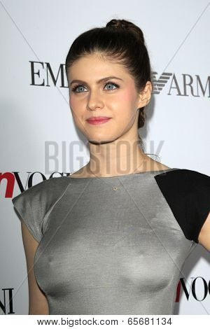 LOS ANGELES - SEP 27:  Alexandra Daddario at the Teen Vogue's 10th Annual Young Hollywood Party at Private Location on September 27, 2012 in Beverly Hills, CA