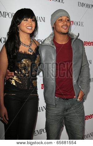 LOS ANGELES - SEP 27:  Cymphonique, Romeo at the Teen Vogue's 10th Annual Young Hollywood Party at Private Location on September 27, 2012 in Beverly Hills, CA