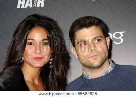 LOS ANGELES - NOV 18:  Emmanuelle Chriqui, Jerry Ferrara at the Variety's 3rd Annual Power Of Comedy Event at Avalon on November 18, 2012 in Los Angeles, CA