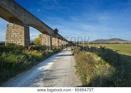 Landscape With Irrigation Canal