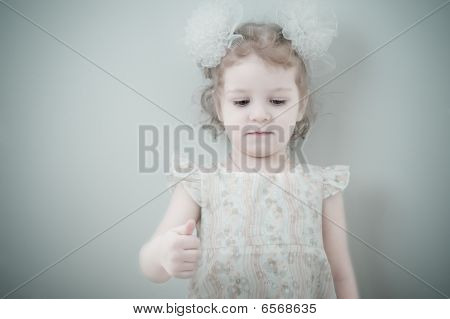 Picture Of Young Smiling Little Girl