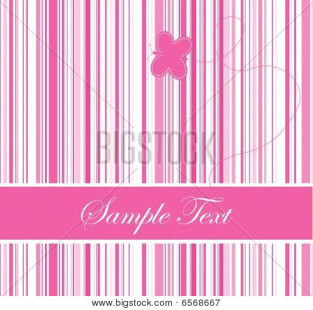 Pink Barcode Background
