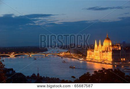 Budapest - Night View