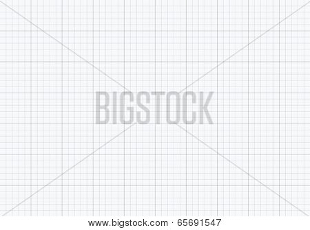Millimeter school paper pattern texture background vector