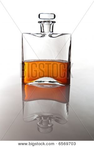 Single Carafe Of Scottish Whisky Or Bourbon