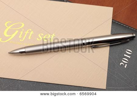 Gift Set With Diary