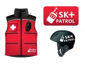 stock photo of pro-life  - Ski patrol symbol - JPG