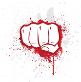 stock photo of revolt  - Fight symbol - JPG