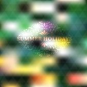 picture of std  - Vector Summer Background place for your text fully editable eps 10 file with gradient mesh and transparency effects Cooper Black Std font used in example - JPG