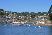 foto of dartmouth  - Dartmouth town on the River Dart - JPG