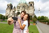 picture of dom  - Berlin Germany travel couple selfie self portrait - JPG