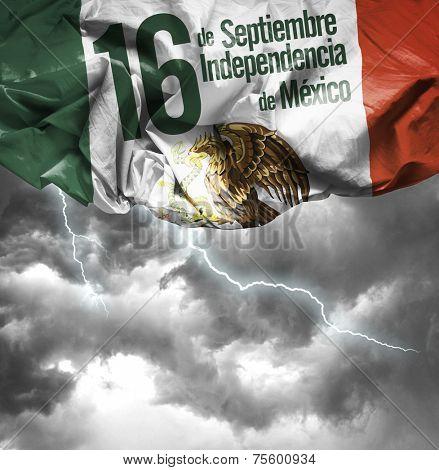 September, 16 Independence of Mexico - 16 de Septiembre, Independencia do Mexico