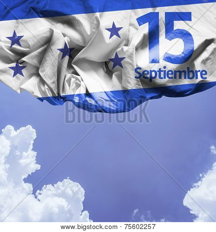 September, 15 Independence of Honduras - Dia 15 de Septiembre, Independencia de Honduras