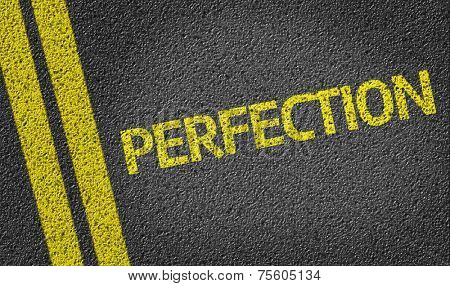 Perfection written on the road