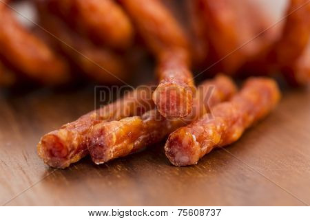 Kabanos - Polish Long Thin Dry Sausage Made Of Pork
