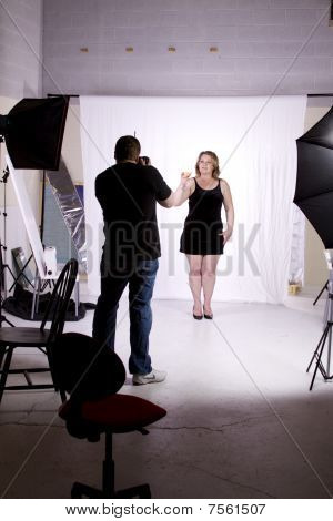 Photographer In The Studio