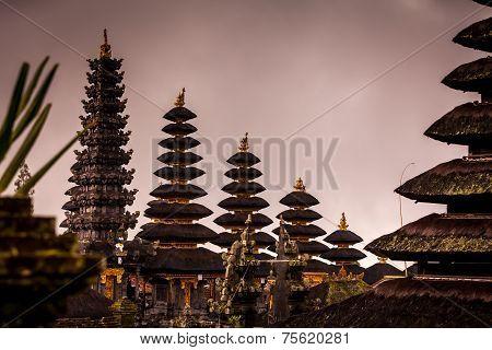 Besakih Temple Roofes