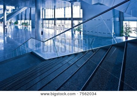 Stair In Office Centre
