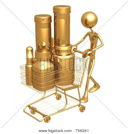 Shopping Cart Medicine