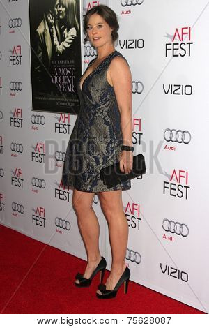 LOS ANGELES - NOV 6:  Ashley Williams at the AFI FEST 2014 Screening Of