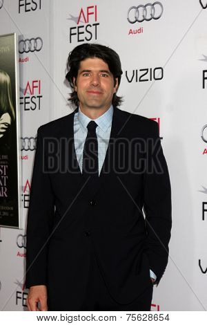 LOS ANGELES - NOV 6:  J.C. Chandor at the AFI FEST 2014 Screening Of
