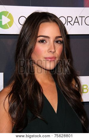 LOS ANGELES - NOV 6:  Olivia Culpo at the Battersea Power Station Global Launch Party at the Milk Studios on November 6, 2014 in Los Angeles, CA