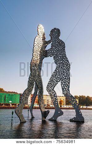 Molecul Man Sculpture In Berlin, Germany
