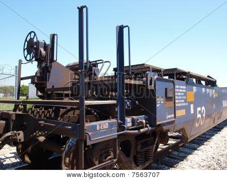New Intermodal Rail Car