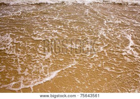 Foamed Sea Wave