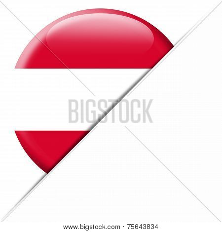 Austria pocket flag