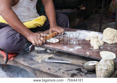 Roadside Dhaba in Orissa.