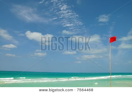 Red Warning Flag