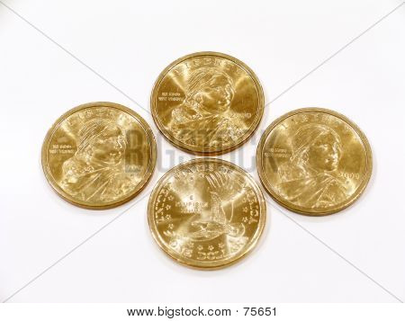 4 US Dollar Gold Coins