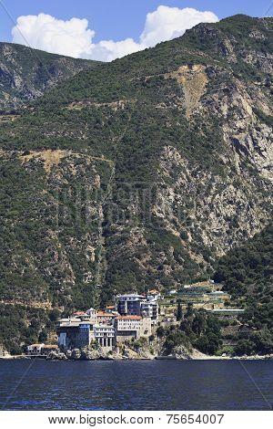 Osiou Grigoriou monastery. Holy Athos.