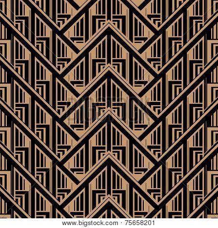 Art Deco Style Pattern
