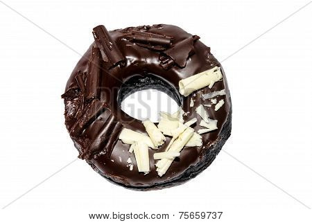 donut isolated on the white background. bakery,