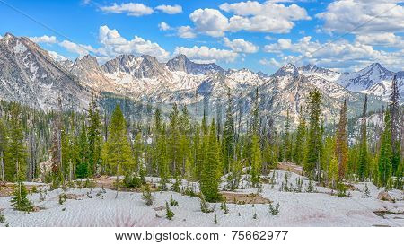 Sawtooth Range, Sawtooth National Recreation Area, ID